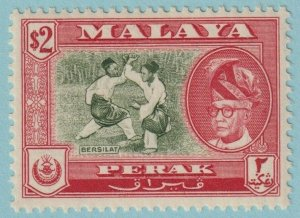 MALAYA PERAK 136 MINT NEVER HINGED  OG * NO FAULTS EXTRA  FINE