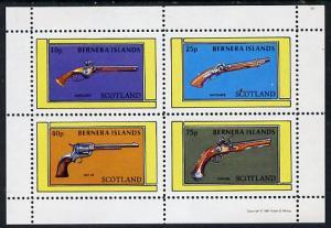 Bernera 1981 Pistols (Wheel-lock, Matchlock, Colt 45 &amp...