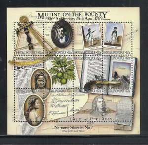 Tonga Niuafo,ou #103 comp mnh cv $25.00 Mutiny on the Bounty