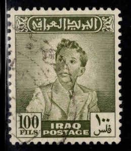 IRAQ Scott  126 Used King Faisal II stamp