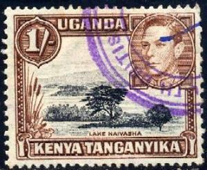Lake Naivasha, Kenya, Uganda & Tanzania SC#80 used