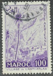 DYNAMITE Stamps: French Morocco Scott #C53  – USED