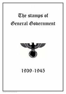 Germany Third Reich Poland General Government 1939-1945 PDF DIGITAL STAMP ALBUM