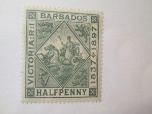 Barbados #82 MH 2019 SCV = $8.50