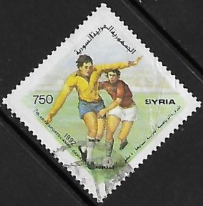 Syria # 1279a - Arab Games - Soccer - used.....{Gn16}