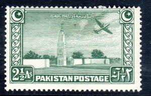 PAKISTAN - 1948 - SG 21   2 1/2  anna   mm  -
