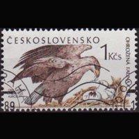 CZECHOSLOVAKIA 1989 - Scott# 2747 Eagle Set of 1 Used