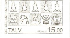 Faroe Islands #94a Complete Booklet  MNH  CV $16.00 (P642)