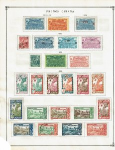 French Guiana, small collection prior to becoming a department of France