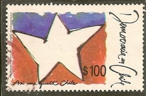 Chile  Scott 889    Democracy     Used