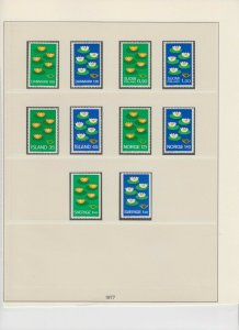 EUROPA 5 PAGES SOUND VF COLLECTION LOT OG NH U/M #3 MINT NEVER HINGED $$$$$$$