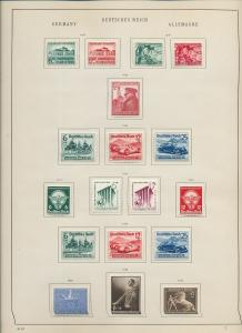 Germany Reich 1934/39 MH Used Collection (Appx 100+Items) Ac 1344