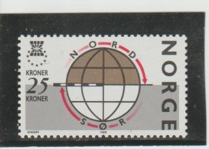 Norway  Scott#  924  MNH  (1988 European Solidarity Campaign)