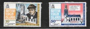 British Virgin Islands  (1974)  - Scott # 278 - 279, MH