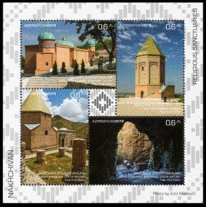 2019 Azerbaijan 1534-1537/B246 Nakhchivan. Religious sanctuaries