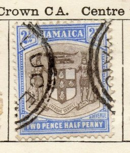 Jamaica 1903 Early Issue Fine Used 2.5d. NW-114301