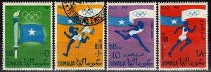 Somalia #248-9, C73-4 F-VF Unused CV $3.10 (X8505)