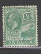 Antigua Sc 42 1921 1/2d George V stamp mint
