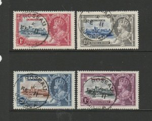 Dominica 1935 Silver Jubilee cds Used SG 92/5