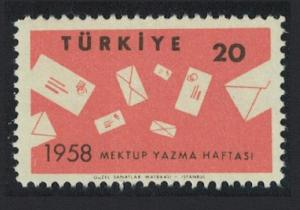 Turkey International Correspondence Week SG#1832 MI#1608 SC#1429