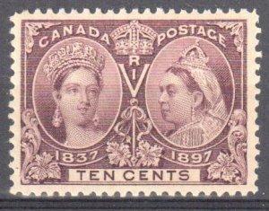 Canada #57 Mint VF OG LH C$250.00 -- CHOICE Jubilee --