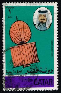 Qatar #469 Satellite; Used (0.95)