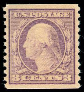 momen: US Stamps #493 MINT OG NH PSE Graded XF-SUP 95