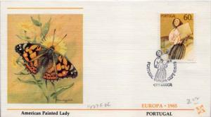 Portugal, First Day Cover, Art, Europa