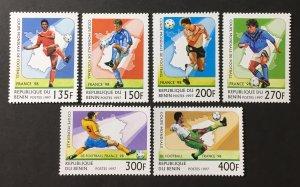 Benin 1997 #966-71, MNH, CV $7