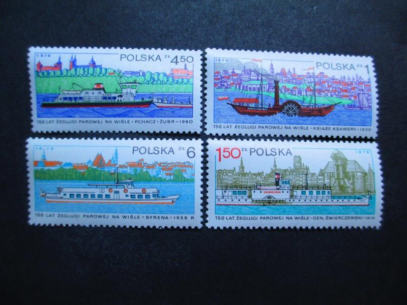 Poland #2341-44 Mint Never Hinged - I Combine Shipping!