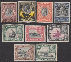 KUT 46-54 MNH VF Short Set CV $45.75