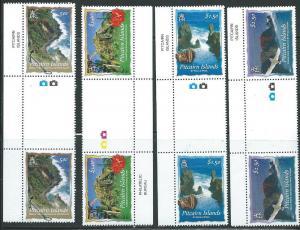 Pitcairn Islands #594-598 Gutter Pairs (MNH) CV$28.00