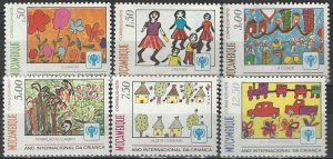 Mozambique  631-6  MNH  Year of the Child 1979