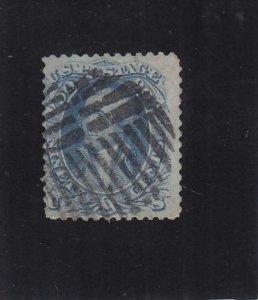 US: Sc #72, Used, 90c Washington  (36493)