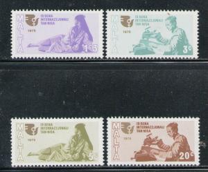 MALTA 1975 MNH SC.491/494 International Women Year