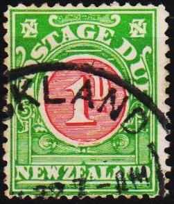 New Zealand. 1902 1d S.G.D30 Fine Used