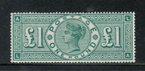Great Britain #124 Extra Fine Mint Original Gum Hinged - Position LA