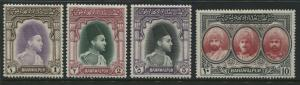Pakistan Bahawalpur 1948 1 to 10 rupees mint o.g.