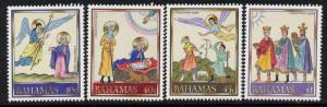 Bahamas 705-8a MNH Christmas, Angel, Mary, Three Kings
