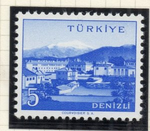 Turkey 1958-60 Early Issue Fine Mint Hinged 5p. NW-17519
