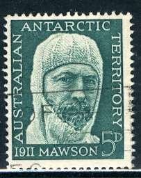 Australian Antartic Terr.; 1961: Sc. # L7: O/Used Cpl. Set