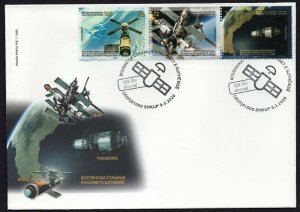 381 - NORTH MACEDONIA 2020 - Space Stations - FDC