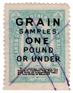(I.B) Midland & Great Northern Joint Railway : Grain Samples (under 1lb)