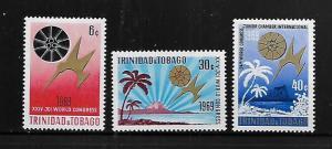 TRINIDAD & TOBAGO, 173-175, MNH, WORLD CONGRESS