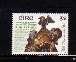 Ireland Sc 827 1991 1916 Uprising Anniversary stamp mint NH