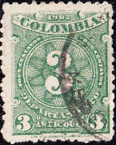 Columbia - Antioquia #133  Used