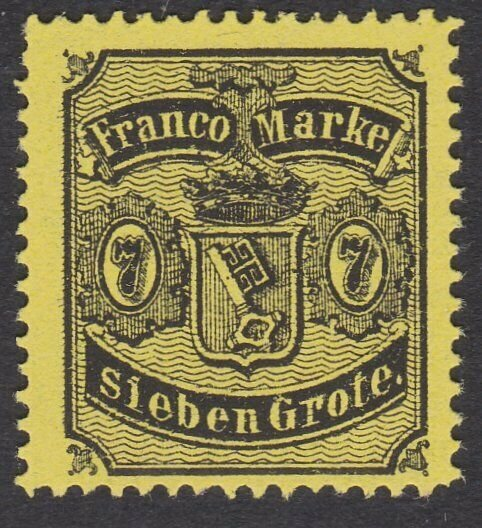 BREMEN GERMANY - an old forgery of a classic stamp - .......................C125