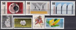Germany #1385-91 F-VF Unused  CV $6.70 (Z7456)