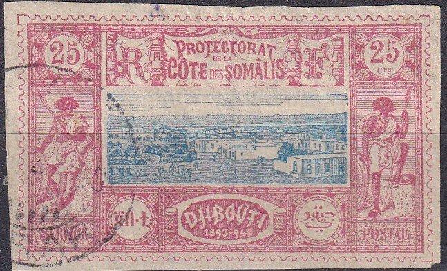 Somali Coast #13 F-VF Used CV $10.50  (Z9712)