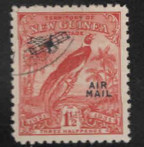 New Guinea Scott C16 Used Airmail overprint stamp